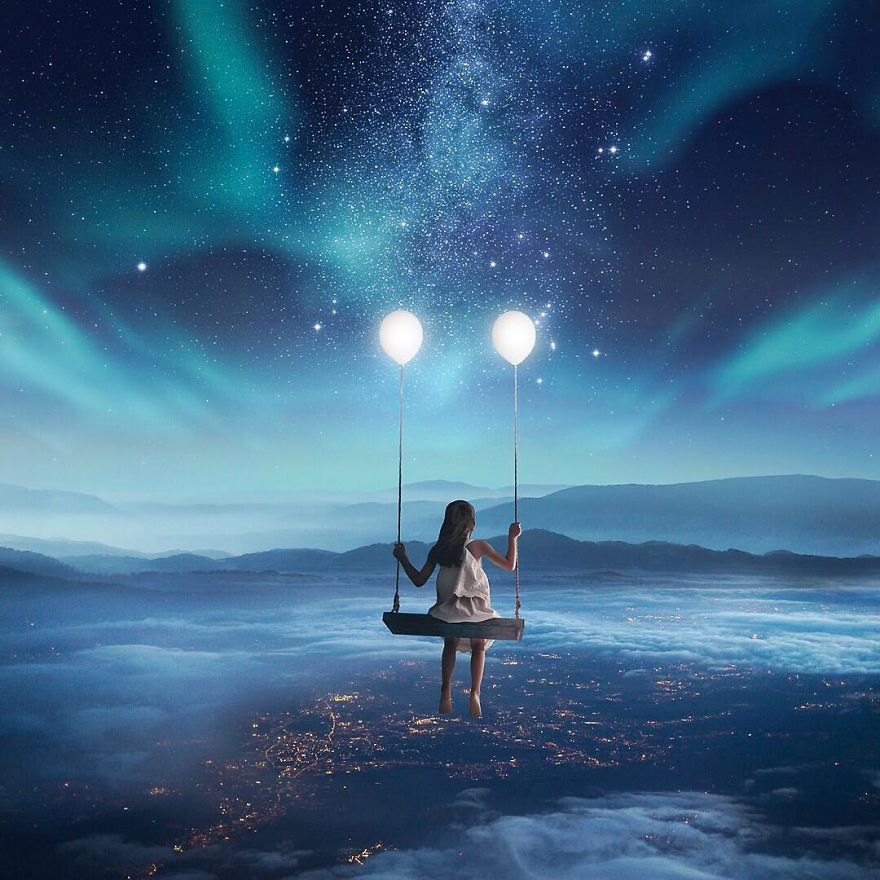 Волшебство наяву: фото, где потрясающе соединены реальность и воображение
