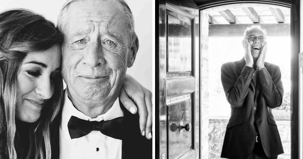 Фотографии отцов, которые впервые увидели своих дочерей-невест