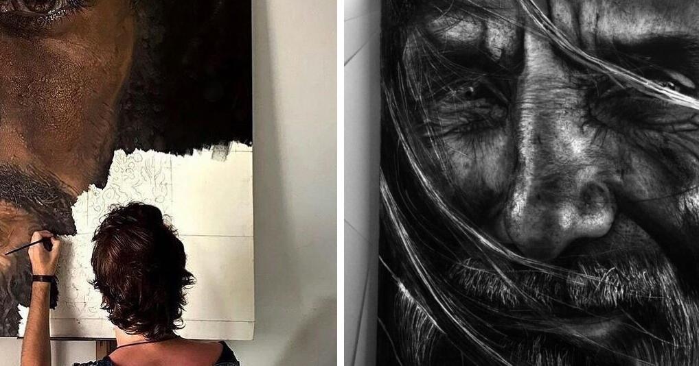 22-летний португалец создает картины, которые сложно отличить от фото