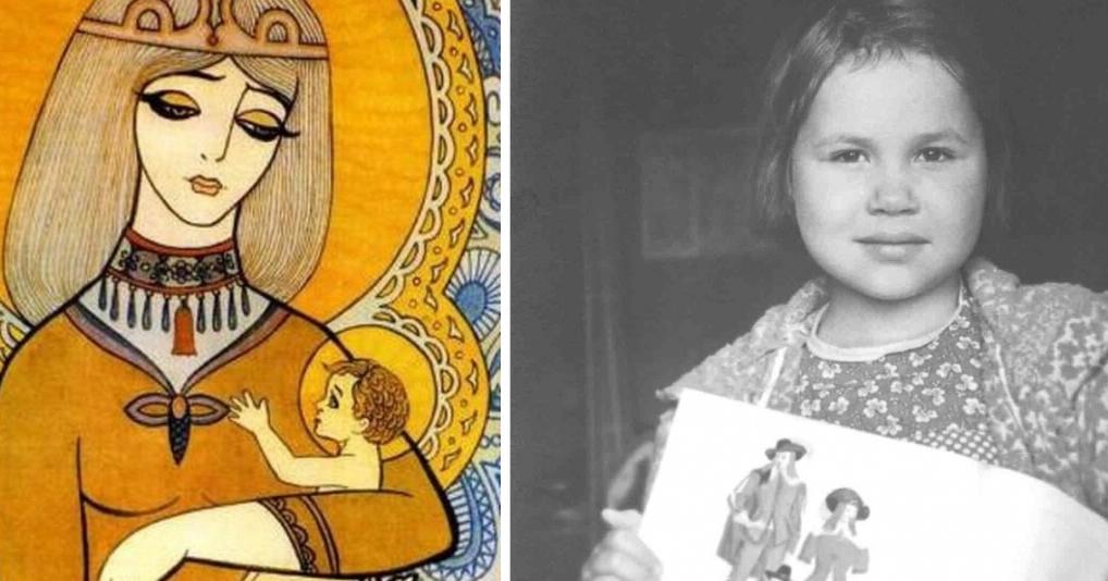 Удивительные рисунки ребенка-вундеркинда, умершей от лейкемии
