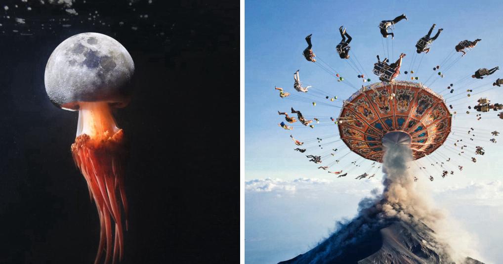 На этих снимках потрясающе соединены реальность и воображение