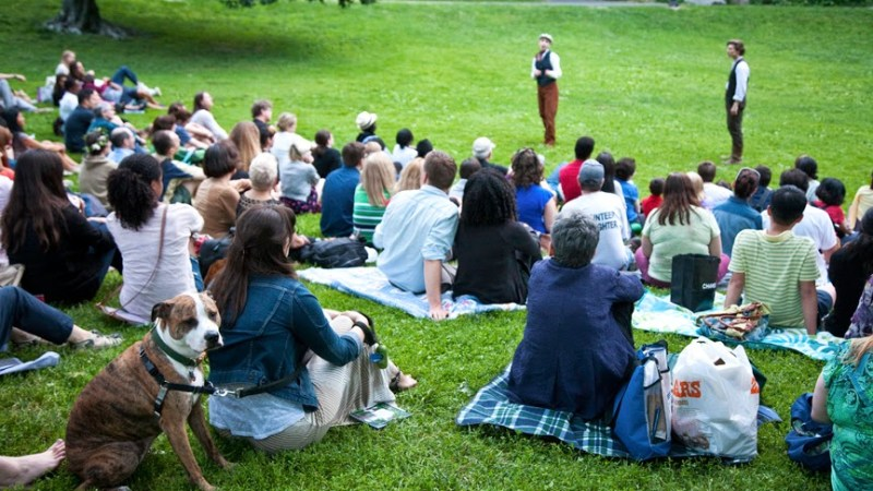 NYC Outdoor Theater: As You Like It