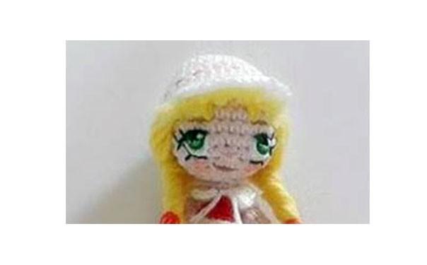 фотоинструкция: Фотоинструкция: Как вышивать глаза кукле