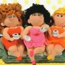 Вязаные куклы. Милашка-толстушка. Крючком. Опи