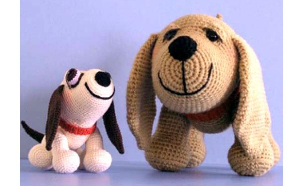 """Вязаная крючком собака """"Пес Генри"""". Описание"""