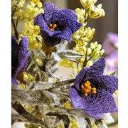 Вязаные цветы: примула луговая. Схема