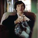 Шерлок Холмс за вязанием