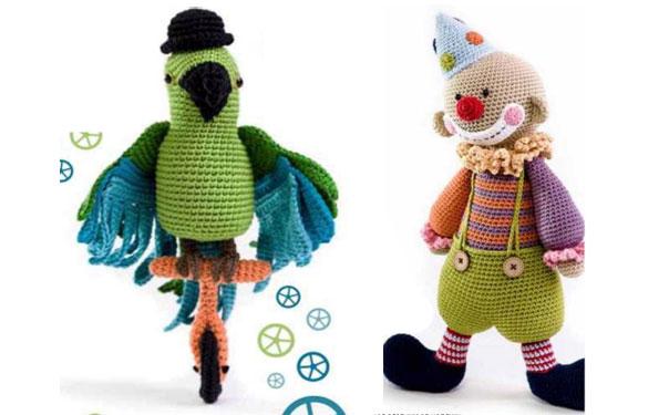 Попугай и клоун. Схема