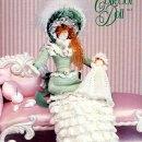 Интерьерная кукла Леди с младенцем Схема