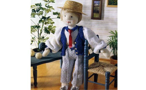 Кукла Мах в деловой одежде