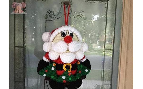 Вязаный дед Мороз. Схема