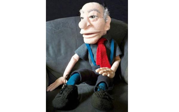 Вязаная кукла дед. Схема