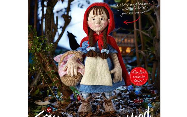 Вязаная кукла. Красная шапочка