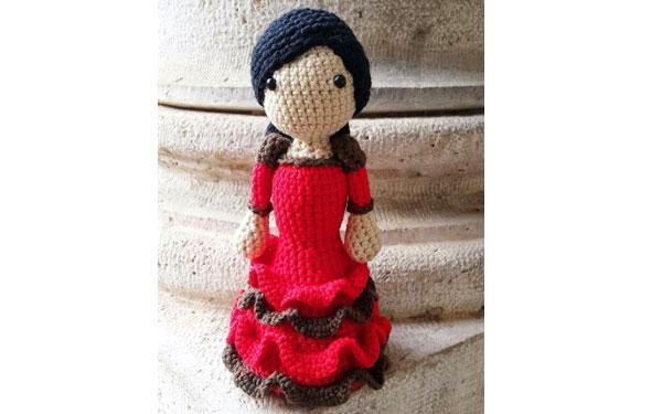 Вязаная кукла Фаменко. Схема