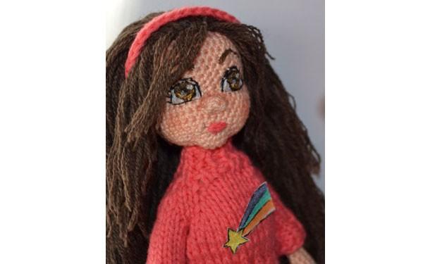 Вязаная кукла Мейбл. Схема