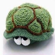 Вязаная черепаха Ольга