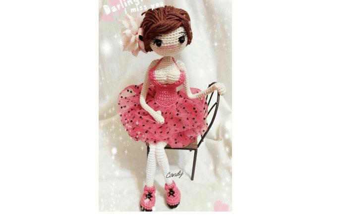 Кукла Хелена. Крючком