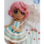 Вязаная кукла Саванна. Схема