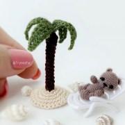 Схема вязания крючком пальмы