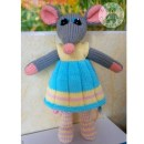 Мышка Бетти. Спицами