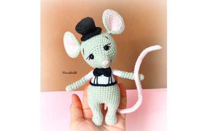 Вязаный Мудрый крыс Рикарро. Схема