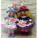 Вязана кукла Цветочная фея. Мастер-класс