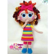 Вязаная куколка Чамой. Схема