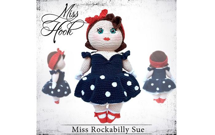 Вязаная кукла Очаровательная барышня. Схема