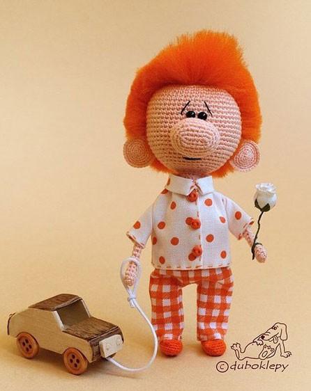 Кукла с большим носом