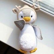 "Вязаный пингвин ""Пингвиняш Пин"""
