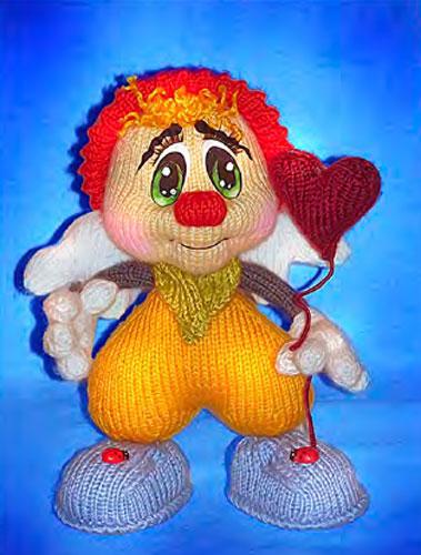 Вязаная кукла Валентинчик. Мастер-класс