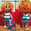 Вязаная крючком кукла Малышка Лиа