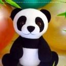 Вязаная крючком большая панда. Мастер-класс
