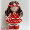 Вязаная крючком кукла Берегиня