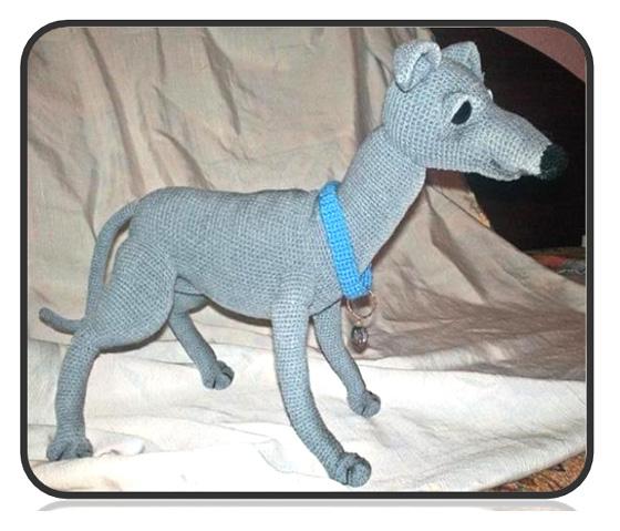 Схема вязания крючком собаки ливретка Сирко