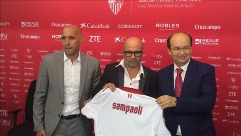 Sevilla thoi Jorge Sampaoli Du an thu vi nhat Chau Au hinh anh