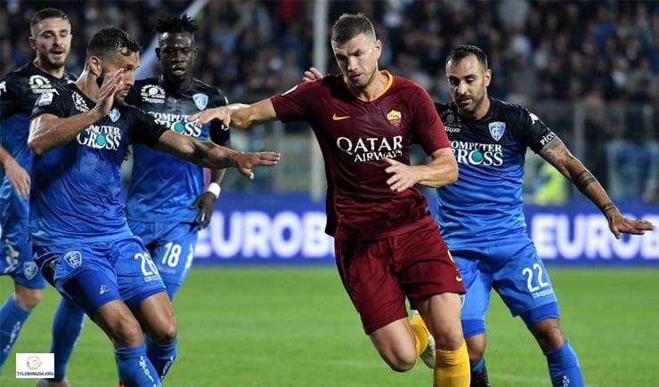 Soi kèo tỷ số nhà cái trận AS Roma vs Empoli