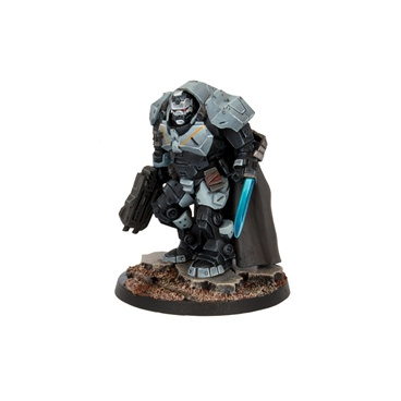 Mantic Deadzone Enforcer Captain