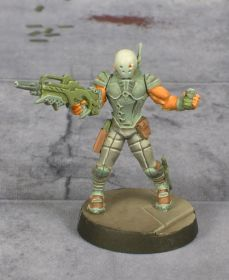 Infinity Nomad Intruder painted by Tyler Provick