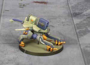 Infinity Nomad Vertigo Zond painted by Tyler Provick