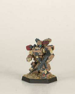 Heavy Gear Northern Hunter. Miniatures by Dream Pod 9. Painted by Tyler Provick