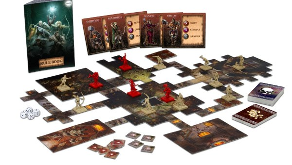 Dungeon Saga. Image copyright Mantic Entertainment ltd. Used with permission