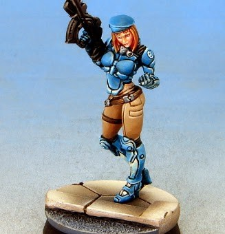 Infinity Fusilier painted by Tom Schadle