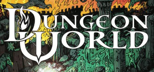 Dungeon World Logo. Copyright Sage Kobold Press