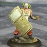 Batman Miniature Game Shield Clown