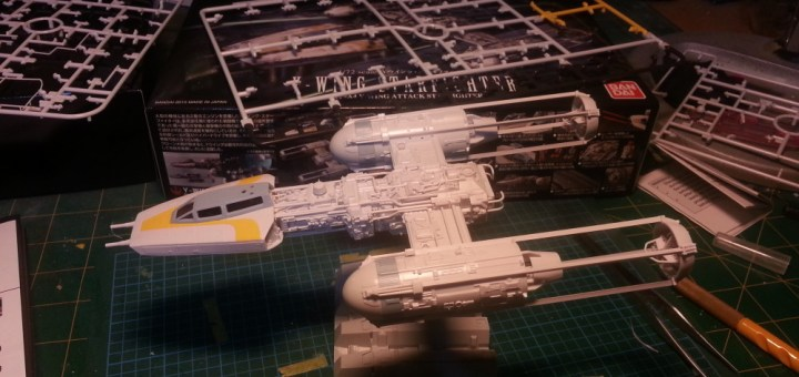 Bandai 1/72 Star Wars Y-Wing