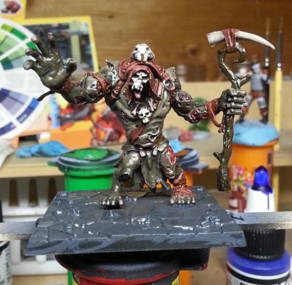 Dungeon Saga Zombie Troll Shaman