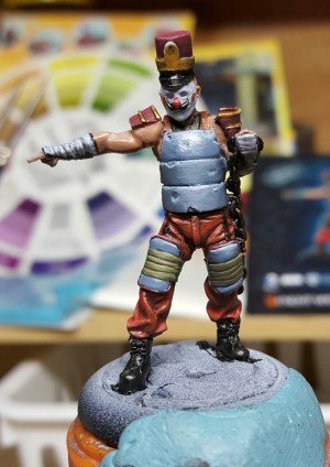 Batman Miniature Game Armoured Joker Clown