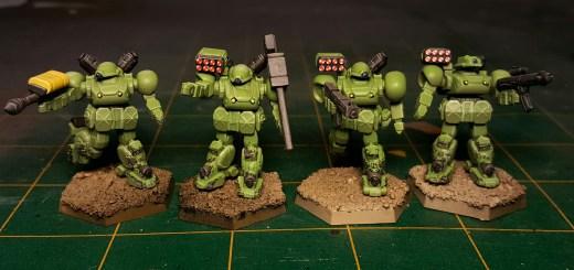 Heavy Gear Kickstarter Jagers