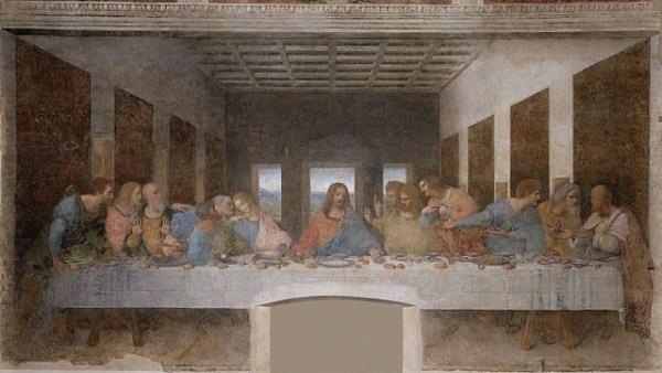 Leonard Da Vinci's The Last Supper.
